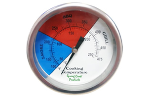 BBQ Pit Smokers Thermometers