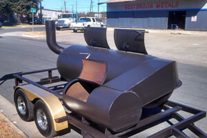 Steel sheet, tube, pipe, tank heads for building bbq pit smokers