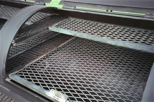 Expanded Metal for BBQ Pits and Smokers