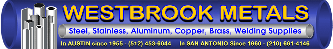 Westbrook Metals Distributor Stainless Steel, Aluminum, Brass, Pipe
